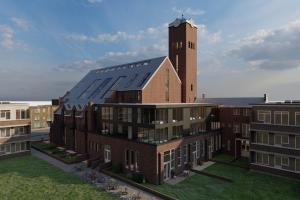 Valkenboskerk Den Haag/Ontwerp en visualisatie door Studioschaeffer  - Render achtergevel.jpg