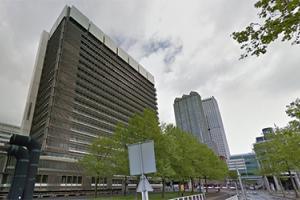 Sloop JuBi-toren - Den Haag