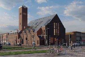 Valkenboskerk Den Haag/Ontwerp en visualisatie door Studioschaeffer - voorgevel dag.jpg